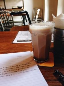 iced (skinny) latte